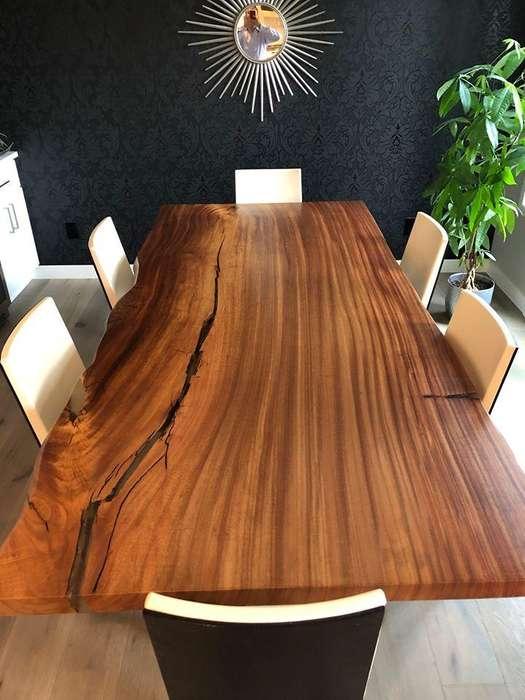 Mesa de comedor en madera solida de Campano by Monteforte