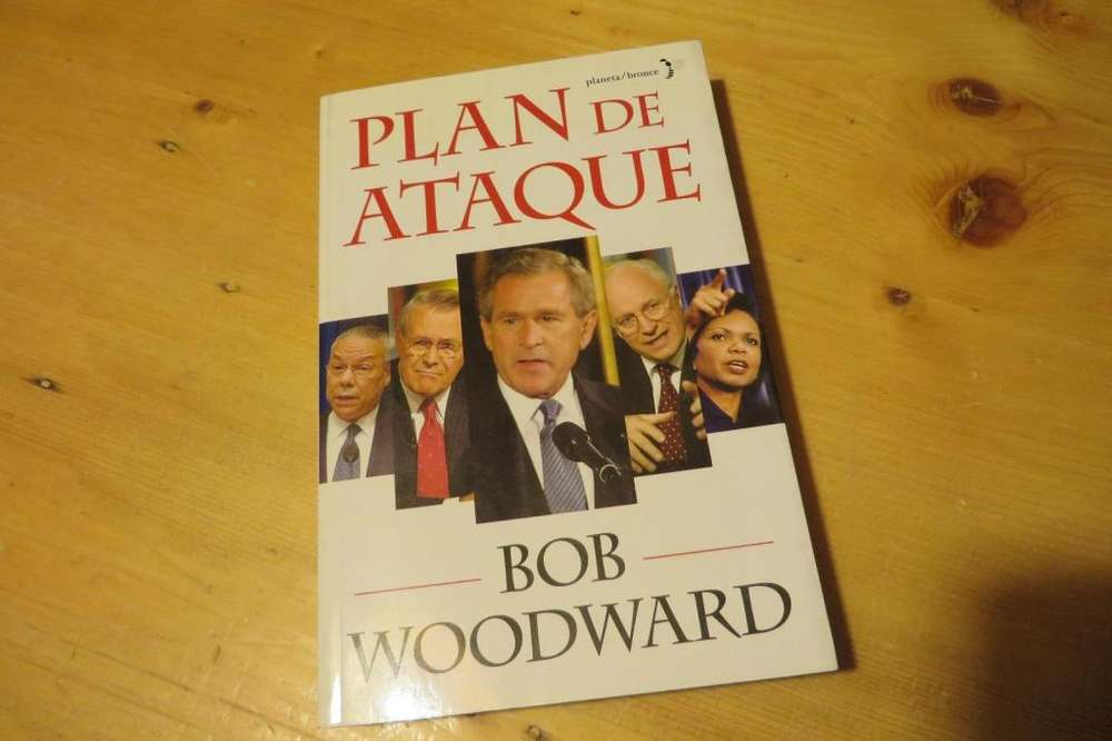 Libro Plan de Ataque Bob Woodward