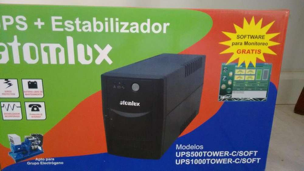 UPS estabilizador SIN USO