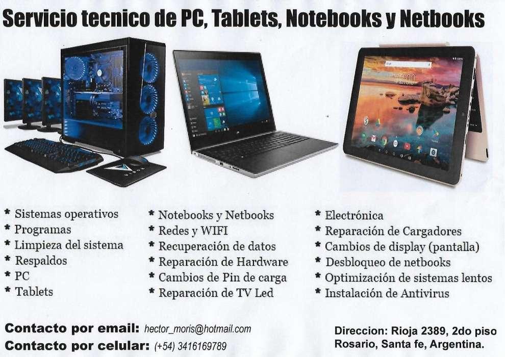 Servicio Tecnico Computadoras. Tablet, notebook y netbooks