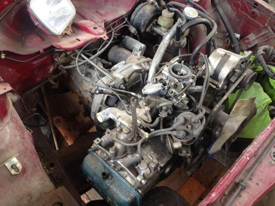 Subaru 1981 4wd Motor Arranque Carburador