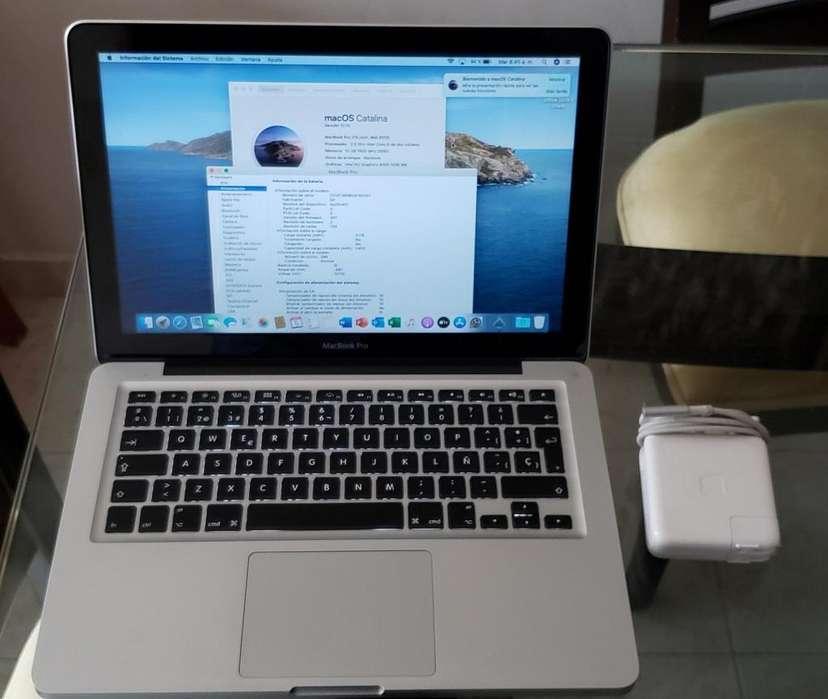 Macbook Pro 13 Core I5 Ram 10gb Ssd 120gb 500 Gb Usado 2012