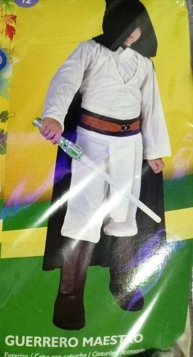 Disfraz de Guerrero Maestro Talla 12