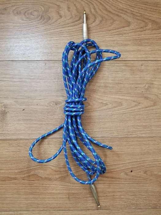 Cable de Audio 6 Metros para Instrumento