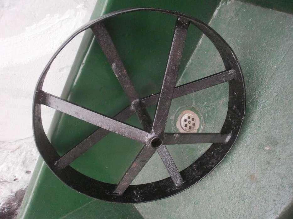 rueda de hierro