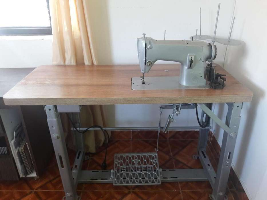 Maquina Plana Singer Industrial