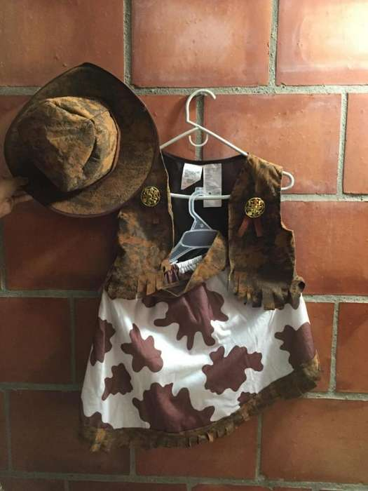 Disfraz Vaquera Talla 5-6