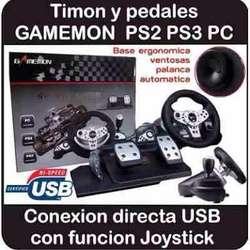 Timon Marca Gamemon, Midist Compatibles ,PS 2,PS 3,PC Delivery Gratis Todo Lima, Se Hacen Envíos Provincia.