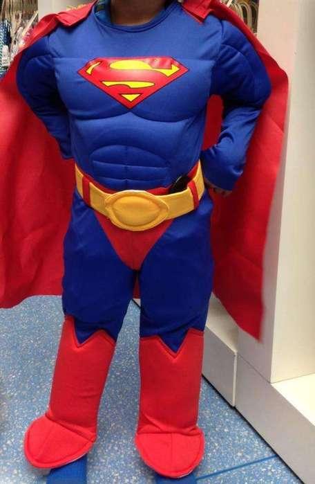 Disfraz de Superman Talla 2