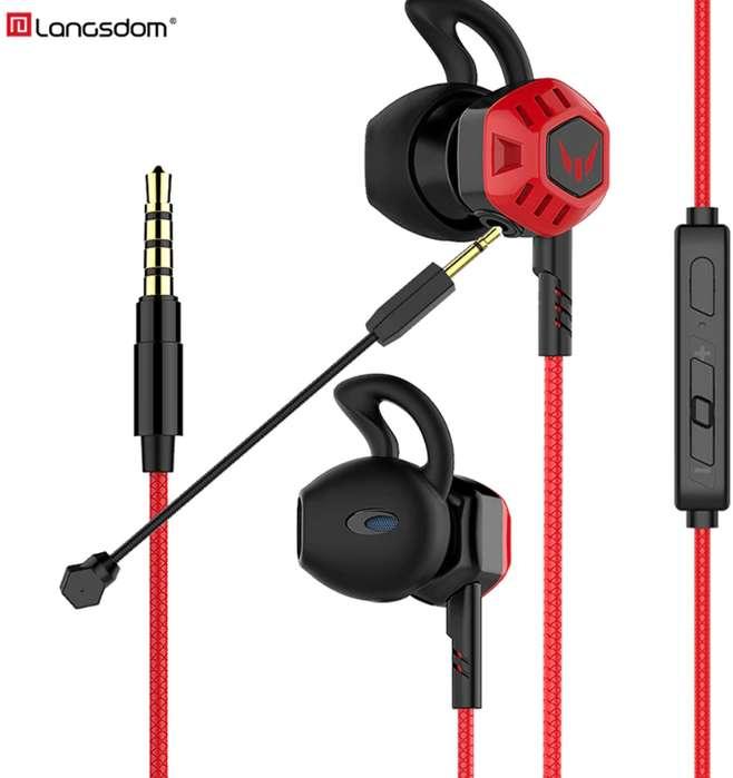 G100X PC Gaming Auriculares con micrófono Control de volumen estéreo