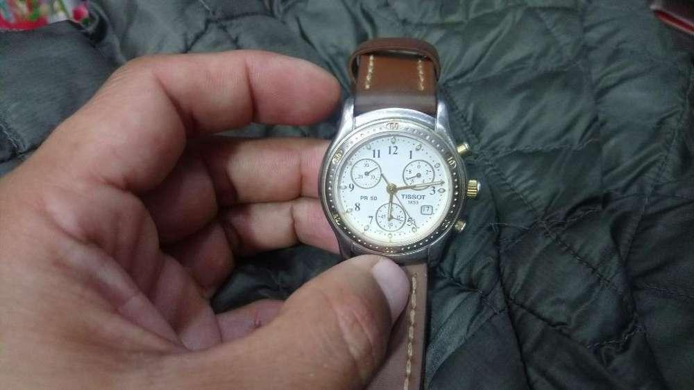 Reloj Suizo Tissot Genuino de Hombre