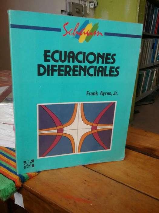 Ecuaciones Diferenciales Frank Ayres serie schaum ejercicios resueltos