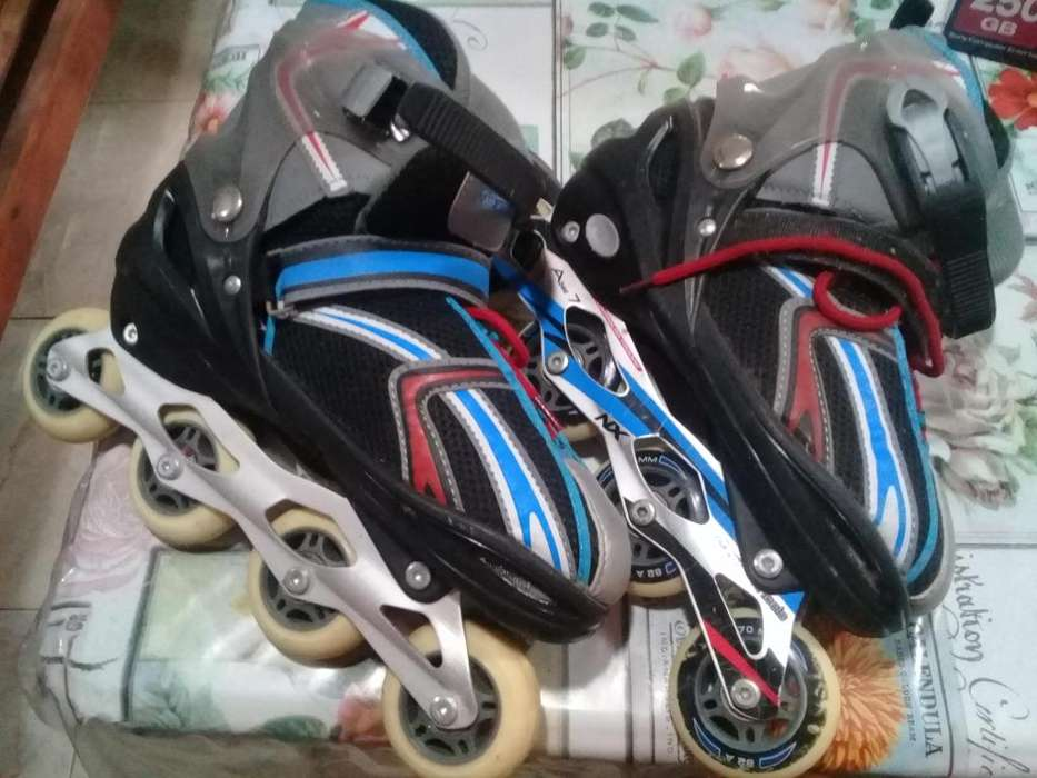 Rollers Abec7 70mm extensibles 3841