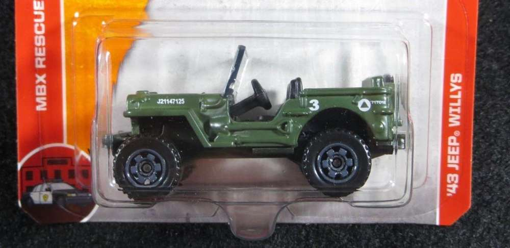 Hot wheels Jeep Willys 1943 Army / 0992786809