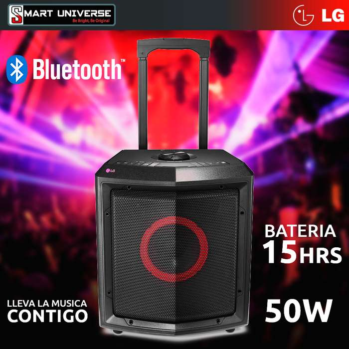 Parlante Portátil Lg Fh2 50 Watts Rms Bluetooth Bateria
