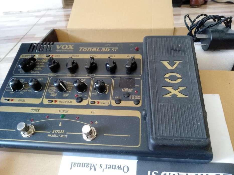 Pedal Pre Valvular Multiefectos Vox