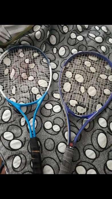 2 Raquetas de Tenis Edge Y Wilson