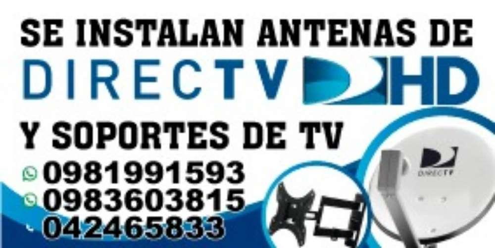Se Instalan Antenas de Directv Y Soporte