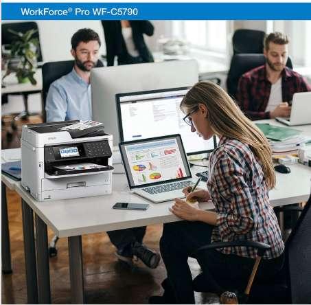 mpresora Multifuncional Color Epson Workforce Pro Wf-c5790