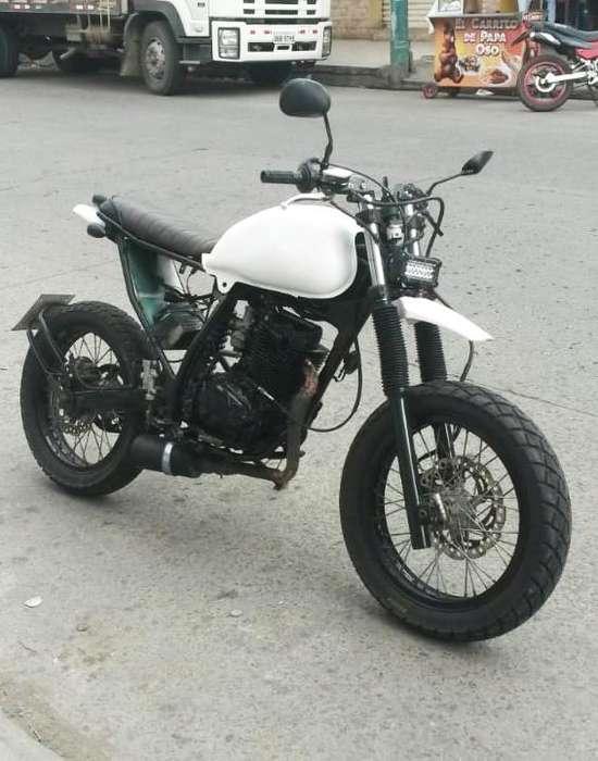 Moto Scrambler 200cc