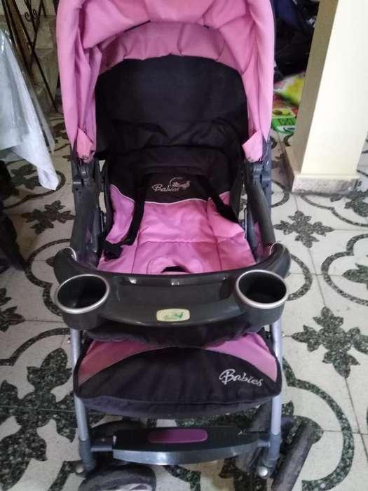 Coche Marca Babied coche Babies Rosado P