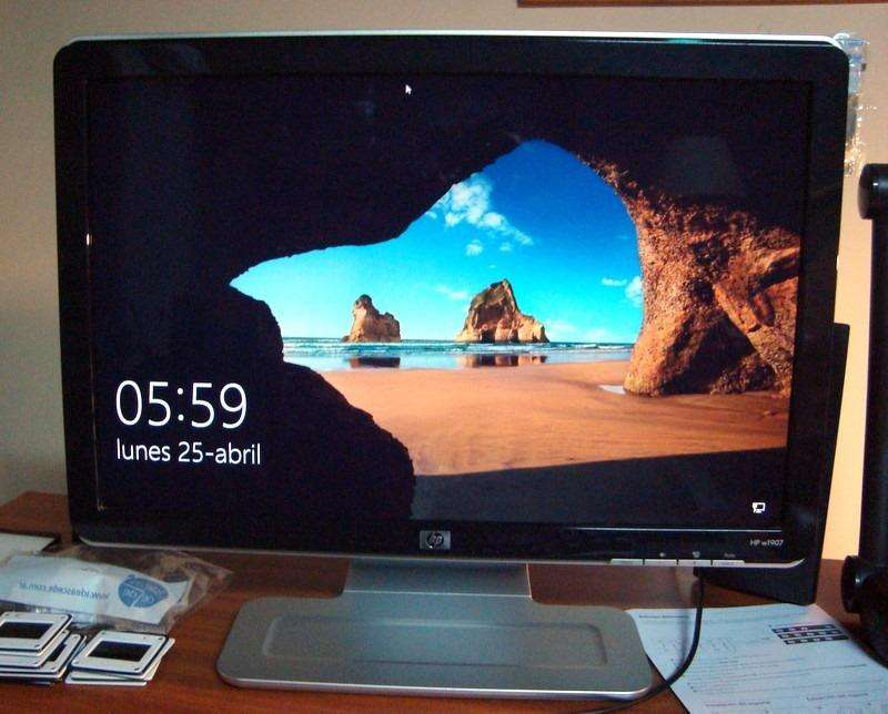 monitor HP w1907 19