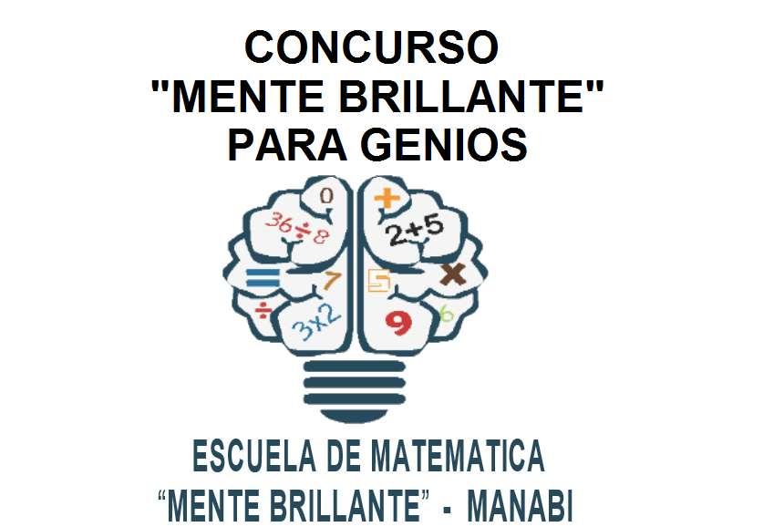 """CONCURSO """"MENTE BRILLANTE"""" PARA GENIOS - PREMIO 250 DOLARES"""