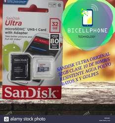 Memoria Sandisk Ultra 32gb