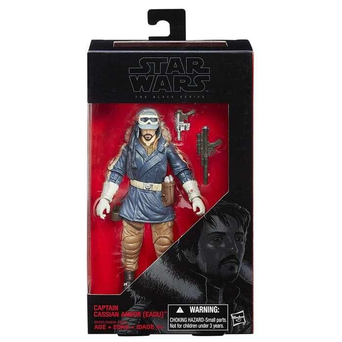 Capitán Cassian Andor Star Wars Figura de acción