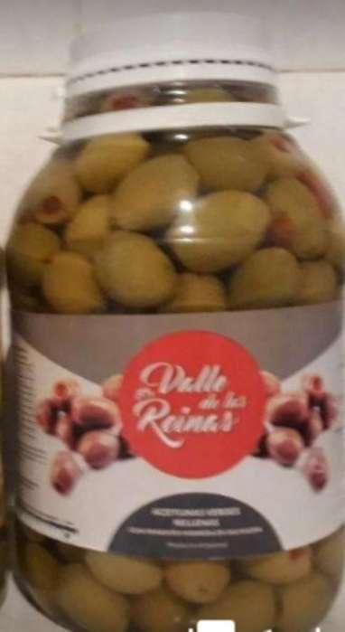 Aceitunas Rellenas con Morron X 1kg