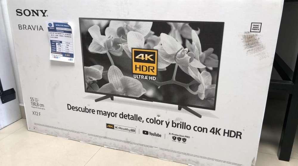Smart Tv Sony 55 con Teatro en Casa