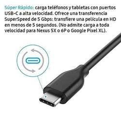 Anker Cable Datos Cargador Usb 3.0 A Usb Tipo C 1 Metro, tienda centro comercial