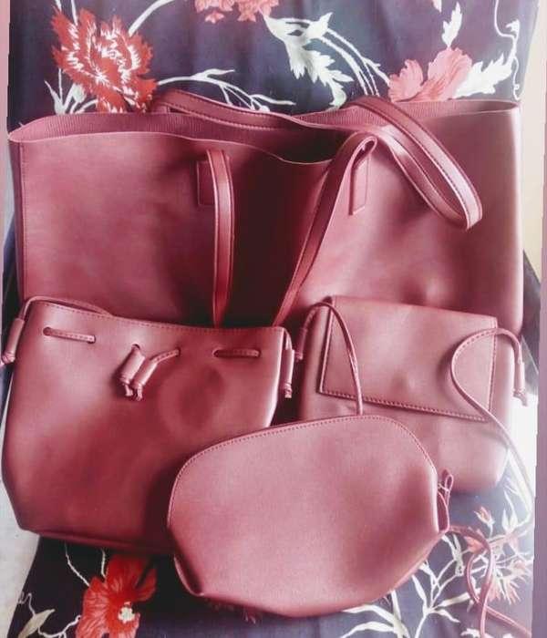 Set de bolsos x4