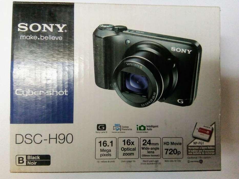 Cámara Semiprofesional Sony Cyber-shot Dsc-h90
