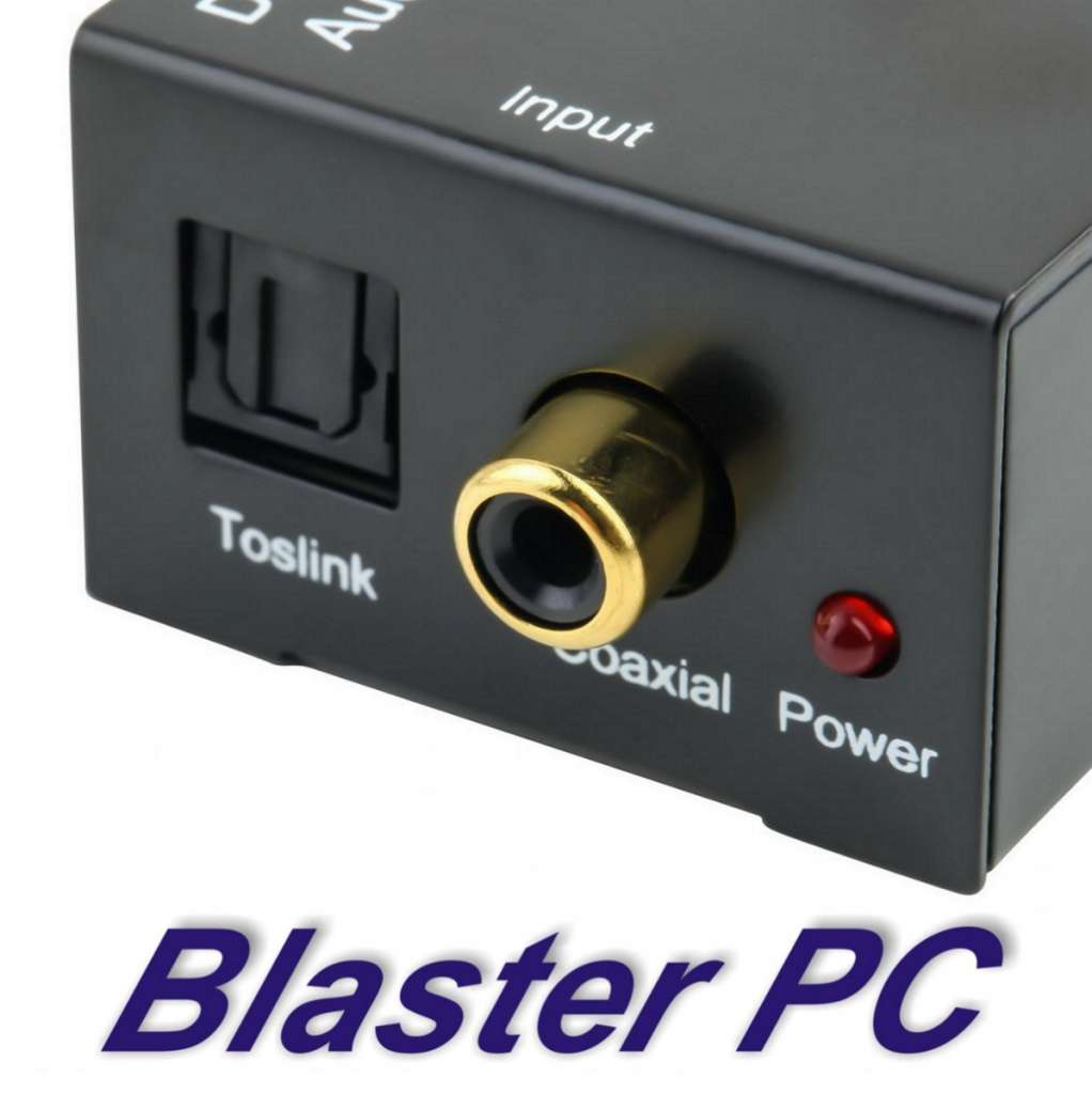 Conversor Audio Digital A Rca Plug 3.5mm Zona Alto Rosario BLASTER PC