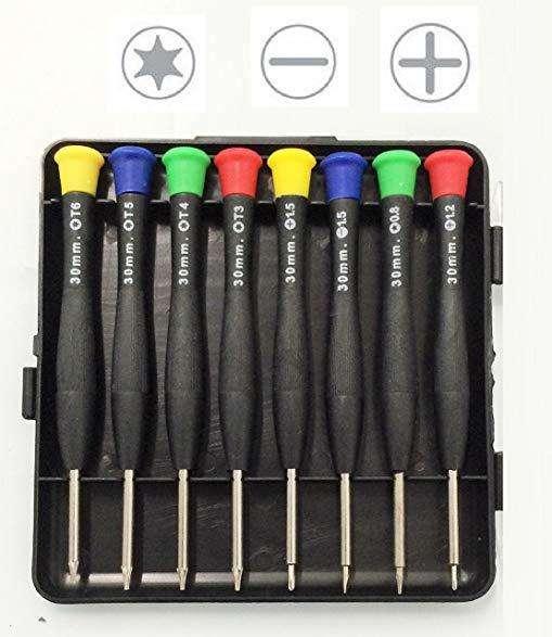 Set de herramientas de precisión 8 piezas