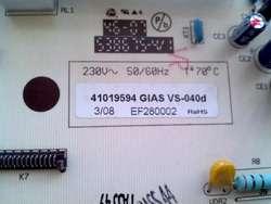 Plaqueta Lavarropas Drean Gold 1910 Candy Cts 60 Cts 102 41019594 Gias Vs-040