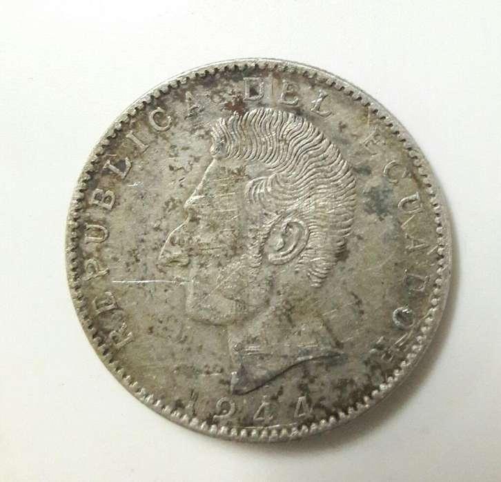 Moneda Antigua Impresa en Mexico