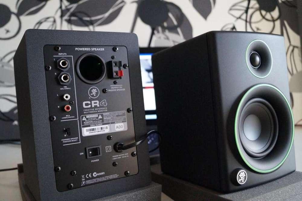 <strong>monitor</strong>es Mackie Cr4 Nuevos!!! Bt Activos 50 Watts (el Par)