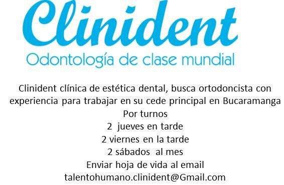Busco ortodoncista