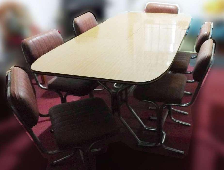 Excelente Mesa de <strong>comedor</strong> 6 sillas