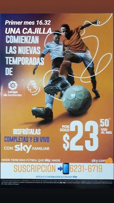 Sky Familiar 92 Canales