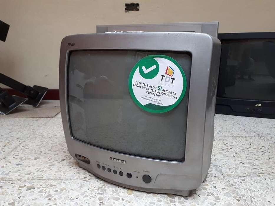 Televisor Samsung pequeño de 14 pulgadas