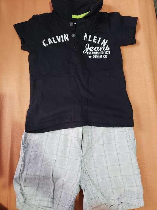 Conjunto Calvin Klein Buen Estado