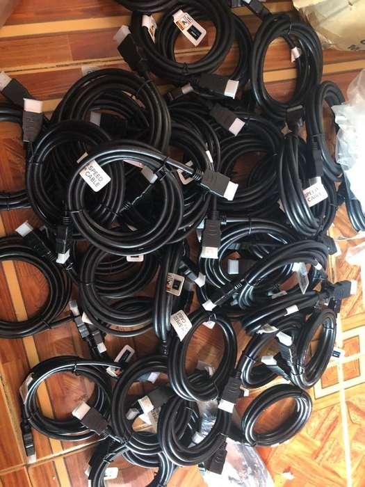 Vendo 130 Cables Hdmi Nuevos en Caja
