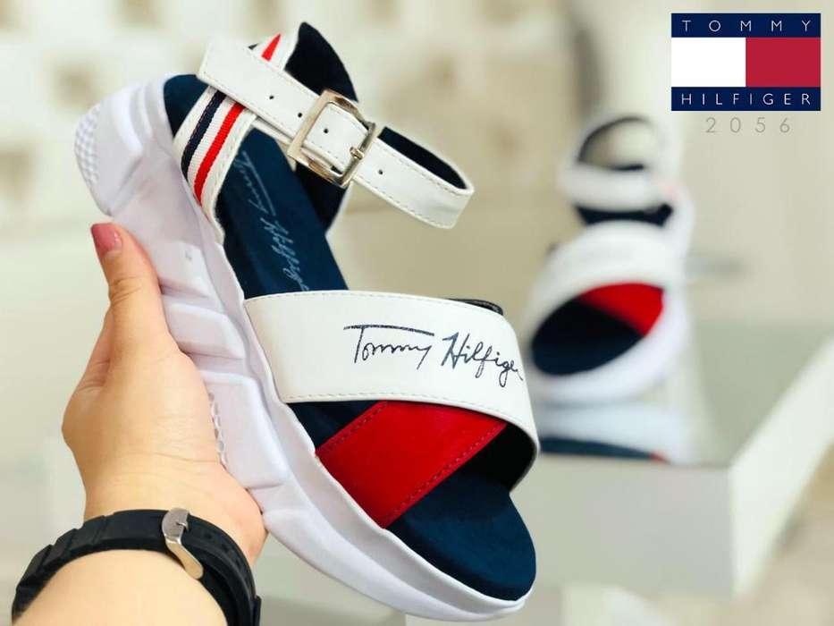 Zapato Sandalia Tommy Mujer