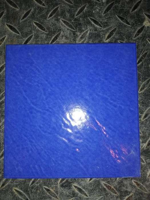 Piso Pared Cerámico Azul Mediterráneo 20