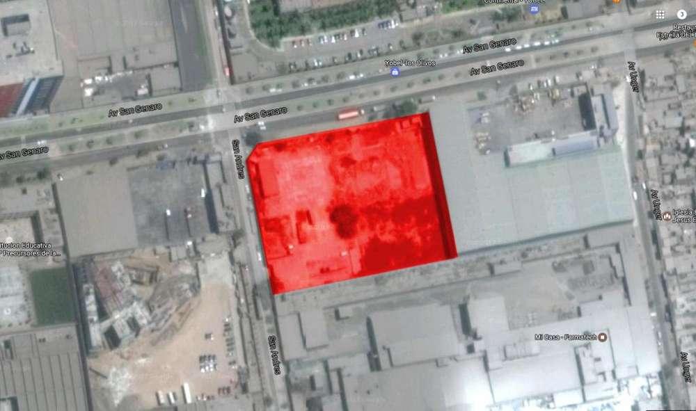 Terreno de 10,000 m2 en venta en Los Olivos, zonificación I-1 (Industria Liviana)
