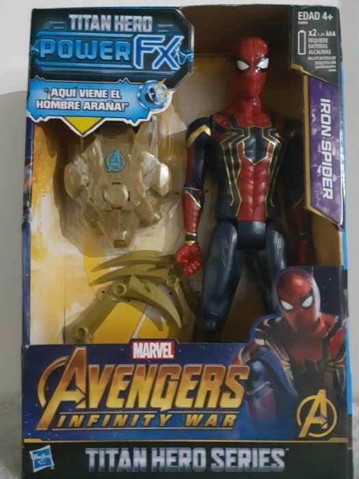 Spider-man Avengers Power Fx con Sonidos