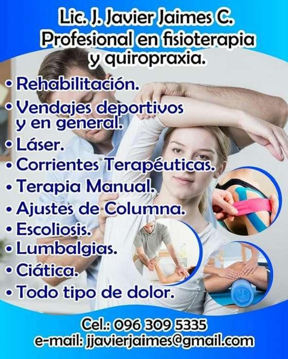 Fisioterapia, Terapia Manual Y Quiroprax